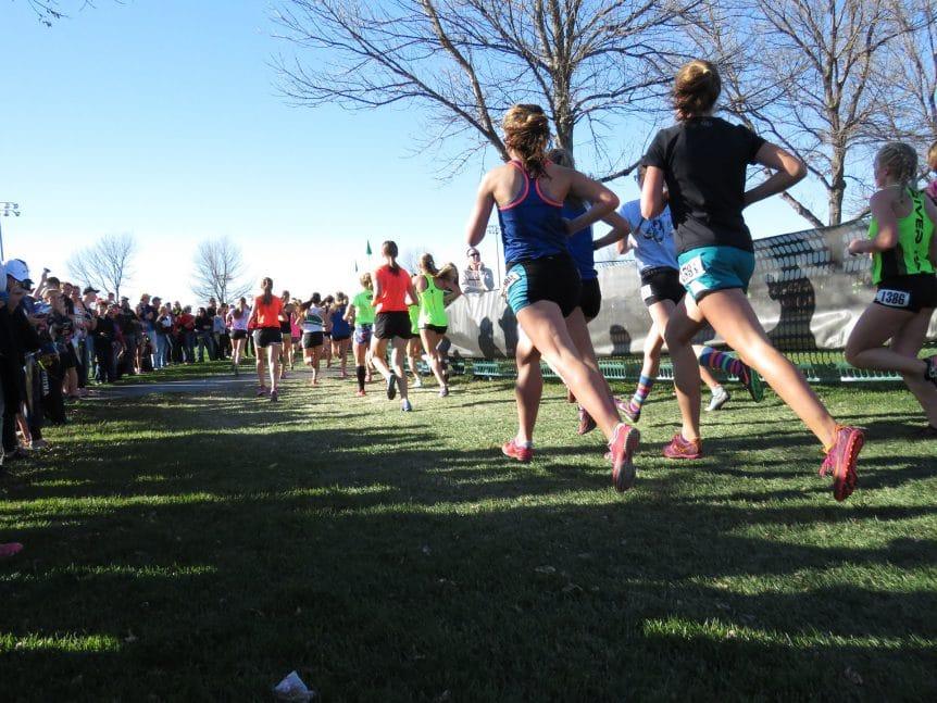 Viele Läufer bei einem Spendenprojekt als Wettkampf