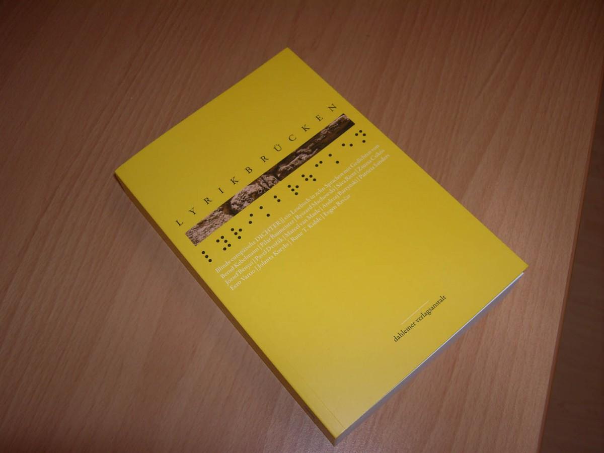 """""""Lyrikbrücken""""-Buch der dahlemer verlagsanstalt"""