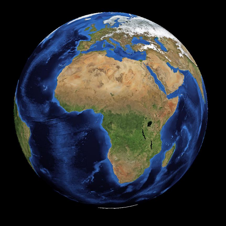 Weltkugel aly Symbol für die weltweite Arbeit des Deutschen Blindenhilfswerk