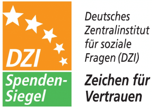 Logo Spendensiegel - Zeichen für Vertrauen