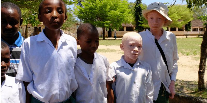 Blinde und sehbehinderte Kinder in Kilifi